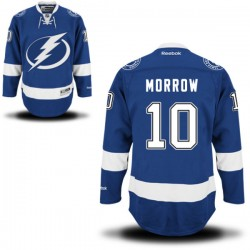 Adult Authentic Tampa Bay Lightning Brenden Morrow Royal Blue Home Official Reebok Jersey