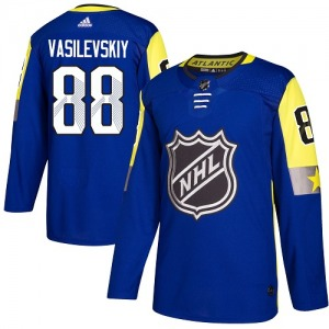 Adult Authentic Tampa Bay Lightning Andrei Vasilevskiy Royal Blue 2018 All-Star Atlantic Division Official Adidas Jersey